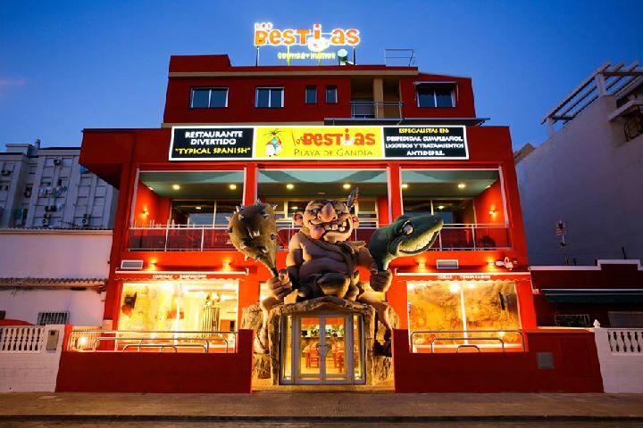 Los Bestias Playa de Gandía Restaurante Los Bestias Playa de Gandía